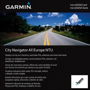 Карта Garmin City Navigator Europe NTU 2020.30